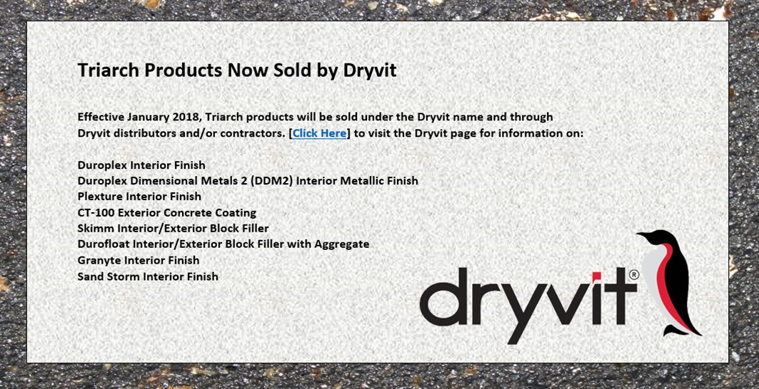 Triarch Now Dryvit Interior Products